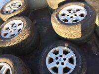Various Wheels & Tyres