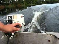 9.9 Chrysler outboard motor