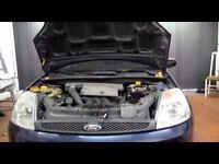 Genuine 2002-2008 Ford fiesta 1.25 zetec engine head injectors pulley sump wiring complete