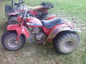 Honda atc three wheeler