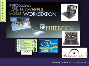** Worksation Hp Elitebook 8770W Professionnel  /Intel I7 Quad Core/ 16Gb Ram/ Carte VIDEO 4gb Nvidia Quadro/ Tx inc.