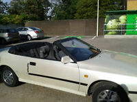 Toyota Celica Cabriolet/Convertible 1987