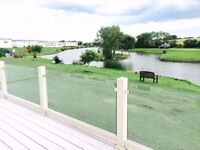 Stunning Lodge by the lake on Sand le mere holiday village in east Yorkshire.