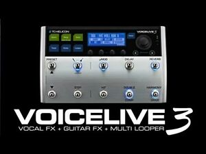 T.C. Helicon VoiceLive 3 Multiple FX Pedal