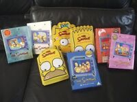 8 Simpsons Box set DVDS