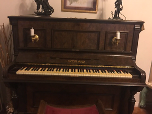 STRAD tuned piano  - used Baulkham Hills The Hills District Preview