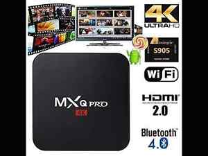 MXQ-PRO 4K ANDROID BOXES FOR SALE with WIRELESS KEYBOARD