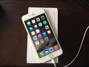 White/Gold iPhone 6 Plus 128GB Unlocked
