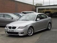 Mint late 2007 (facelift model) BMW 520d 177bhp M Sport man ,trade in welcome, credit cards accepted
