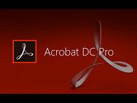 Adobe Acrobat Pro DC / FULL VERSION PC / MAC PDF EDITOR