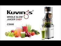 Brand new Kuvings CS600 Chef slow cold press Juicer