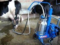 portable milking machine wanted