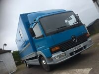 Mercedes horsebox