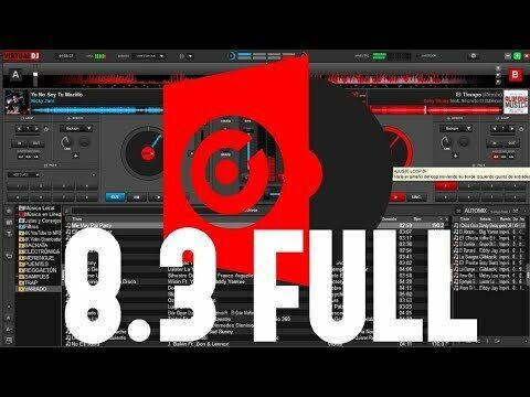 Virtual DJ Pro Infinity 8.3 Profesional for Windows🎵Full Controllers