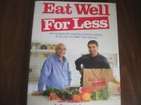 Eat Well for Less Cookbook brand new!