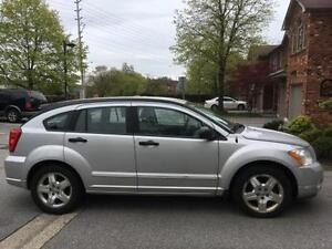 2007 Dodge Caliber Black Hatchback Great Condition