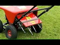 Lawn Care Services. Aeration. Save costs on machine hire for that twice a year job