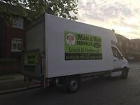 man and van services Merseyside