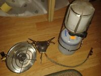 gas stove, heater and lantern