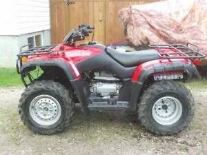 Used 2001 Honda fourtrax 350 4x4