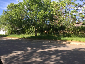 Double corner lot in Shaunavon, sk