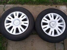 wheels 4x108 good condition- bargain