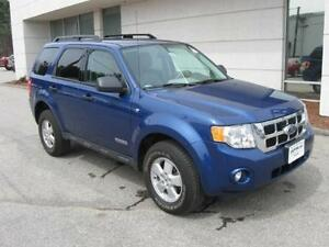 2008 FORD ESCAPE XLT  EASY FINANCING  830-5100
