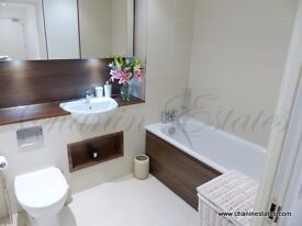 3 bed in new development with concierge & gym close to Canada Water tube. Furnished with Parking!