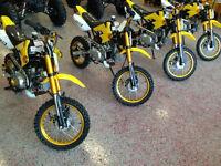 125 Dirt Bike $799.99!! * Aluminum rims,Upgraded exhaust & More.
