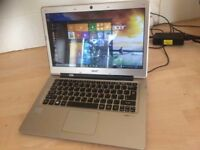 Acer Aspire S3 i5 processor, Clean condition, WIN 10 with OFFICE