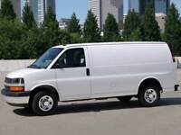 cargo van for rent / moving services in whitby, ajax, pickering