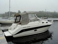 26' Cruiser in Great Condition with New 5.7 litre Mercury