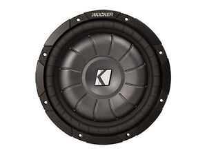 Kicker 10in Shallow Mount Car Subwoofer -New in box