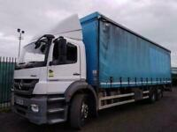 Mercedes-Benz Axor Curtainsider Day cab