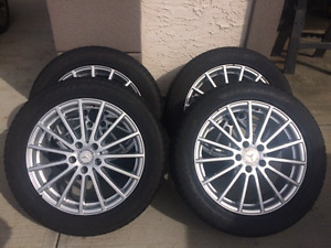 Mercedes GLK or GLE Winter Tires and Rims Combo
