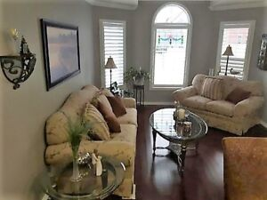DON'T MISS OUT ON THIS GEM/ SOFA AND LOVESEAT