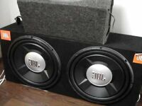 "Twin 15"" JBL subs and Kenwood Amp 800w"