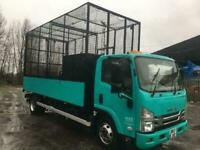 ISUZU TRUCKS FORWARD N75.150 AUTO 4.9M CAGED TIPPER ...TONS OF SPEC