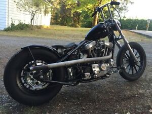 1997 Harley 1200 Chopper rigid bobber