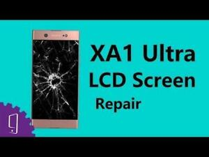 sony xperia xa1 & xa1 ultra cracked screen display LCD repair FAST **