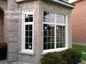 Window Replacement Vinyl Bay  Energy Efficient