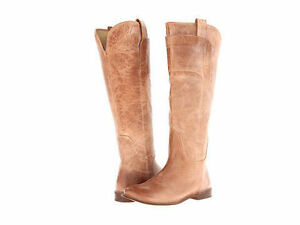 Rare Limited- edition Women Beige Tan Ariat Leather Boots 7