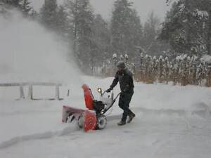 Snow Clearing Service - plowing / snow blowing / shovelling Cambridge Kitchener Area image 1