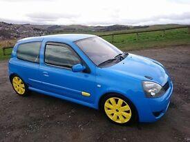 Clio 182 fast road/track car immaculate condition civic type r clio 172 197 corsa vxr impreza