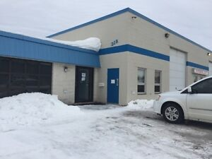 Commercial Office & Garage Space for Lease