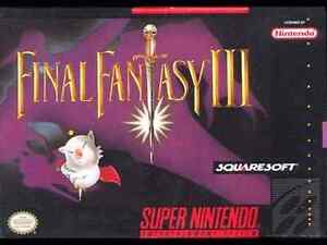 Looking for Final Fantasy 3 for SNES!