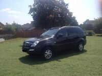 2006 LHD Ssangyong Rexton 2.7 270 XDi SE Automatic Diesel,Top Of The Range Model
