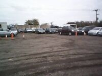 Short and long term vehicle storage. Secure Fenced and gated compound with 24 hour CCTV monitoring