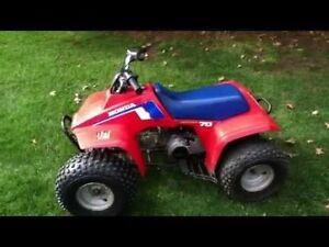 Wanted 50cc 4wheeler