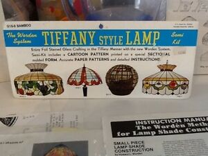 Stained Glass Patterns for Tiffany Lights